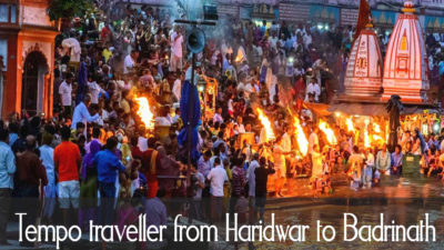 Tempo traveller from Haridwar to Badrinath