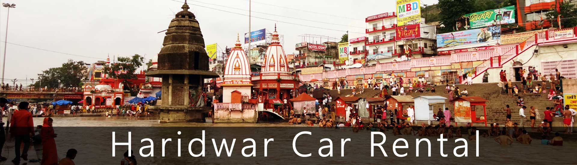 Affordable Taxi rental service for Char Dham Yatra